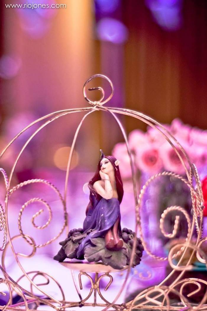 Fairy princess from an Enchanted Garden Princess Birthday Party on Kara's Party Ideas | KarasPartyIdeas.com (11)