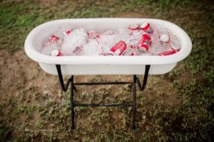Tub of Soda from a Farmer's Market Birthday Party on Kara's Party Ideas | KarasPartyIdeas.com (15)