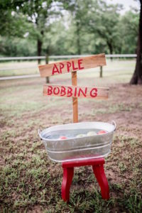 Apple Bobbing Station from a Farmer's Market Birthday Party on Kara's Party Ideas | KarasPartyIdeas.com (11)
