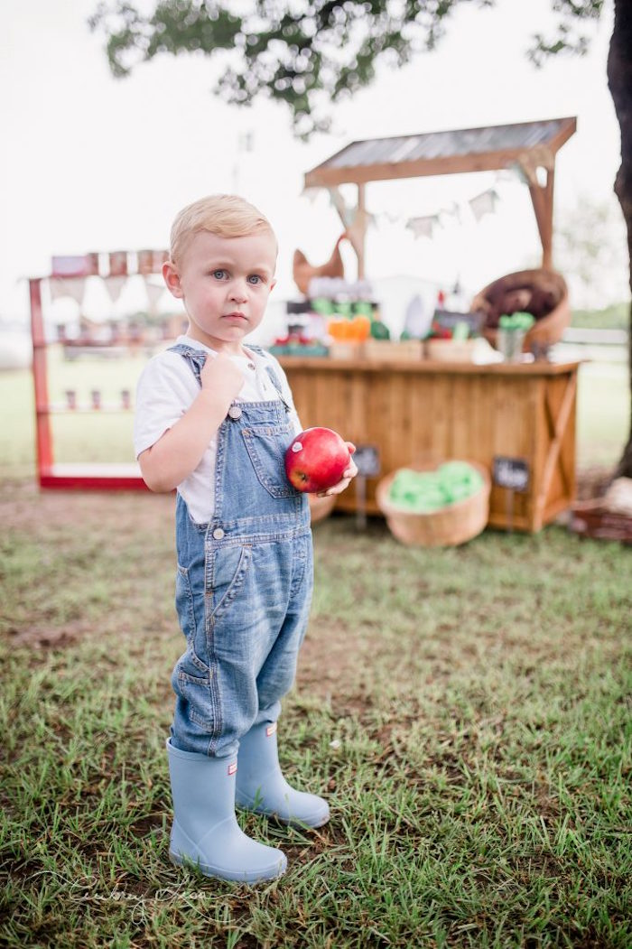 Farmer's Market Birthday Party on Kara's Party Ideas | KarasPartyIdeas.com (10)