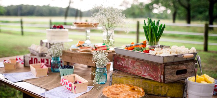 Farmer's Market Birthday Party on Kara's Party Ideas | KarasPartyIdeas.com (4)