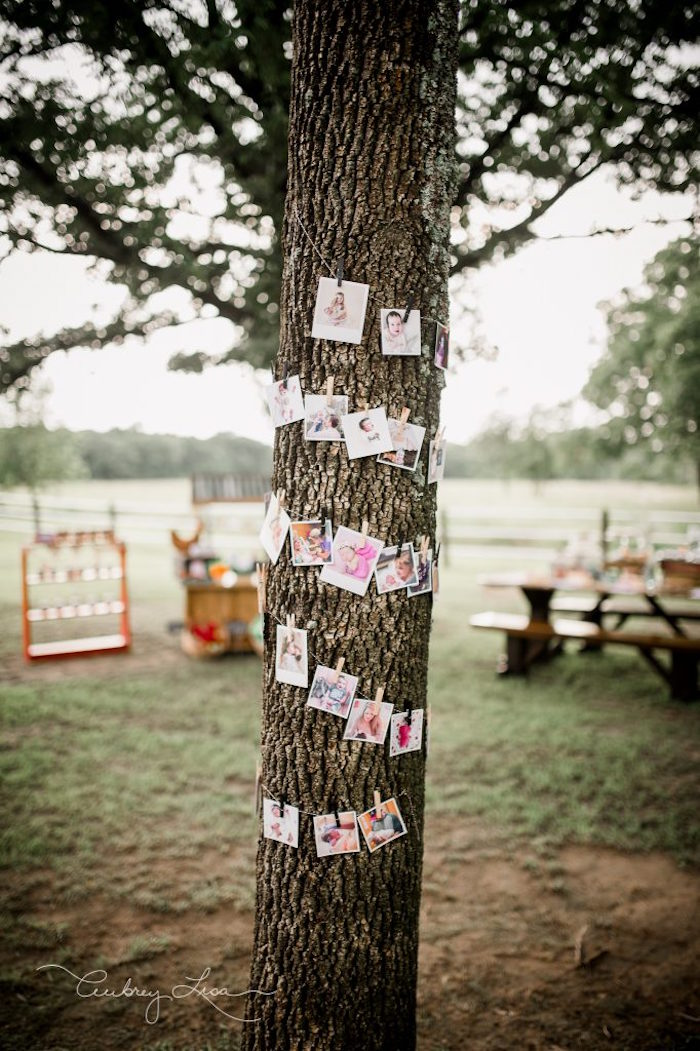 Photo garland from a Farmer's Market Birthday Party on Kara's Party Ideas | KarasPartyIdeas.com (35)