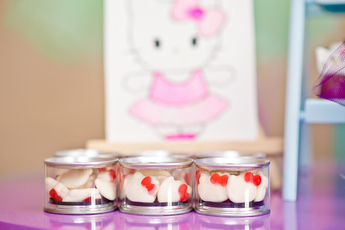 Hello Kitty gummy favors from a Floral Hello Kitty Birthday Party on Kara's Party Ideas | KarasPartyIdeas.com (12)