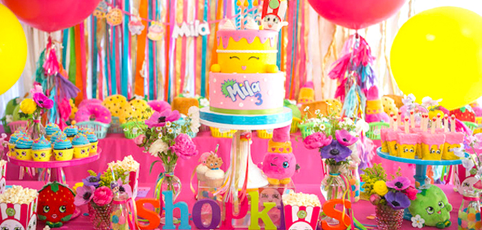 Floral Shopkins Birthday Party on Kara's Party Ideas | KarasPartyIdeas.com (6)