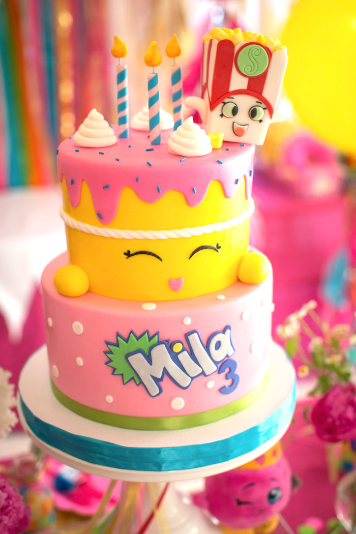 Shopkins Birthday Cake Character
