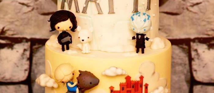 Karas Party Ideas Detailed Game Of Thrones Birthday