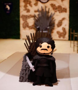 Felt doll centerpiece from a Game of Thrones Birthday Party on Kara's Party Ideas | KarasPartyIdeas.com (7)