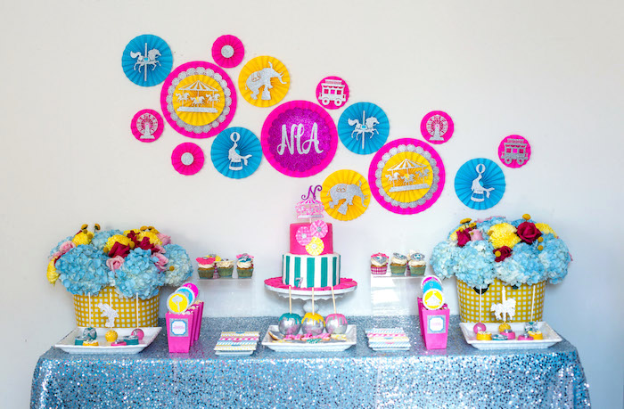 Glam Carnival Birthday Party on Kara's Party Ideas | KarasPartyIdeas.com (17)