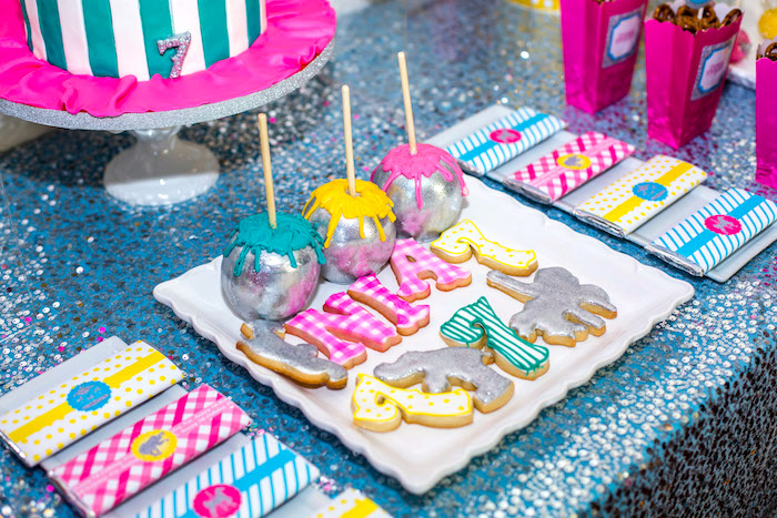 Sweets from a Glam Carnival Birthday Party on Kara's Party Ideas | KarasPartyIdeas.com (7)