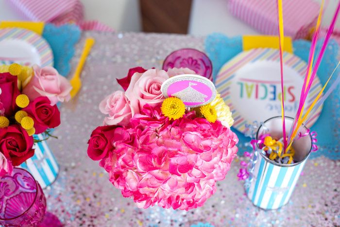 Blooms from a Glam Carnival Birthday Party on Kara's Party Ideas | KarasPartyIdeas.com (32)