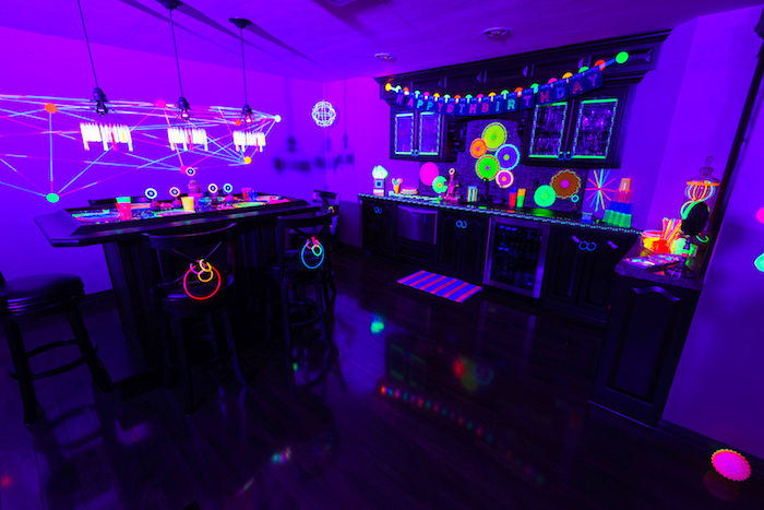 Karas Party Ideas Glow Dance Birthday Party Karas