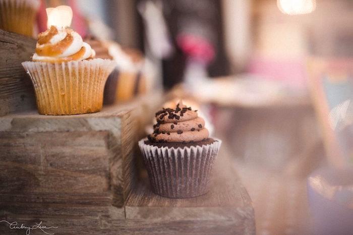 Cupcakes from a Junie B. Jones Inspired Birthday Party on Kara's Party Ideas   KarasPartyIdeas.com (16)