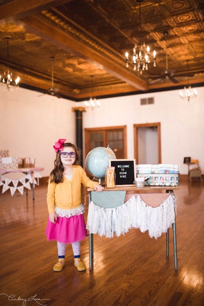 Junie B. Jones Inspired Birthday Party on Kara's Party Ideas | KarasPartyIdeas.com (22)