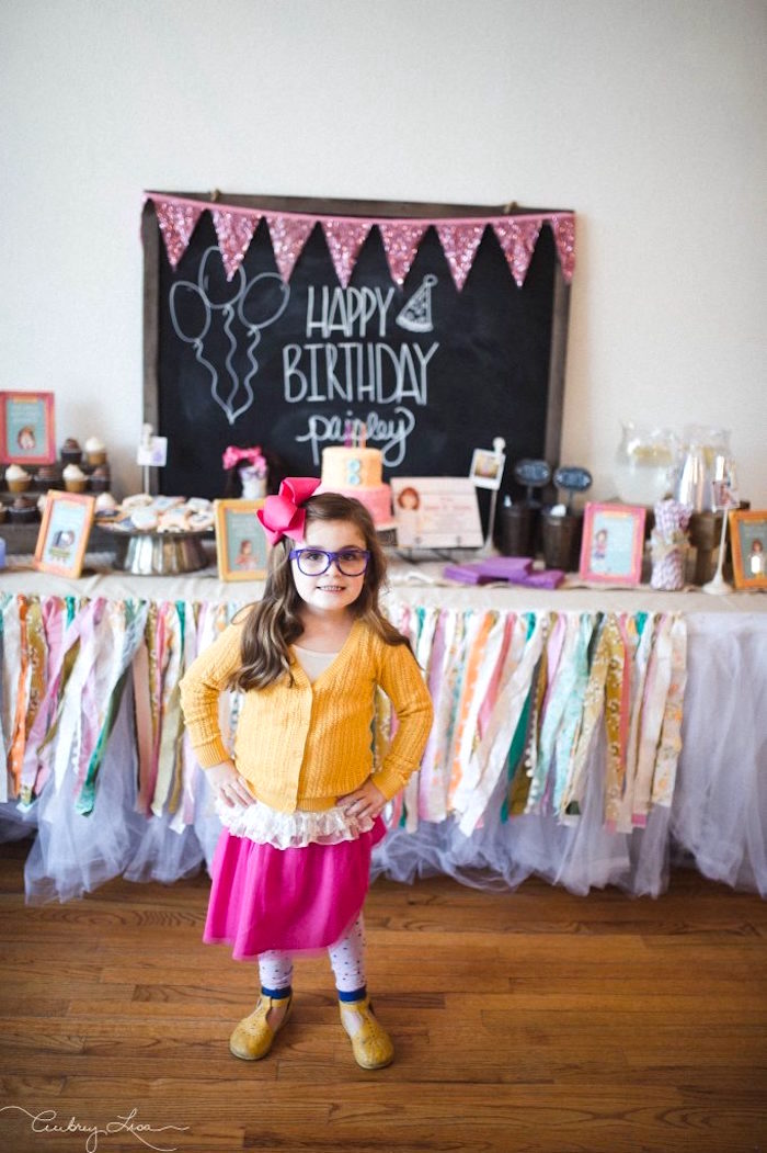 Junie B. Jones outfit from a Junie B. Jones Inspired Birthday Party on Kara's Party Ideas | KarasPartyIdeas.com (20)