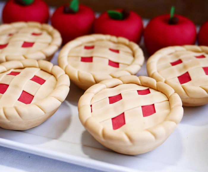 Mini pie cakes from a Little Red Riding Hood Birthday Party on Kara's Party Ideas | KarasPartyIdeas.com (9)