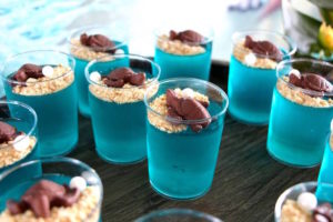 Jello cups from a Moana Birthday Party on Kara's Party Ideas | KarasPartyIdeas.com (6)