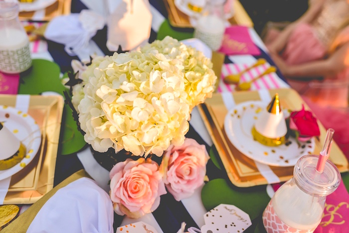 Blooms from a Modern Boho Princess Birthday Party on Kara's Party Ideas | KaraPartyIdeas.com (4)