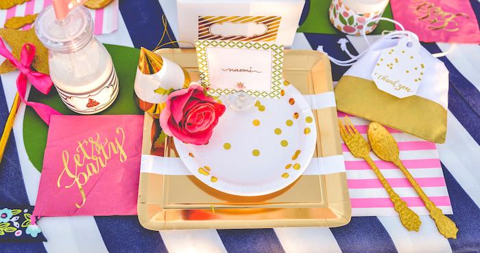 Modern Boho Princess Birthday Party on Kara's Party Ideas   KaraPartyIdeas.com (1)