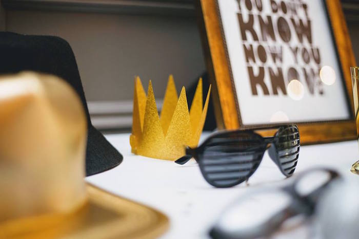 Props from a Notorious B.I.G First Birthday Party on Kara's Party Ideas | KarasPartyIdeas.com (34)