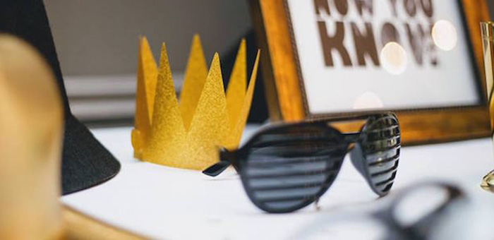 Notorious B.I.G First Birthday Party on Kara's Party Ideas | KarasPartyIdeas.com (1)