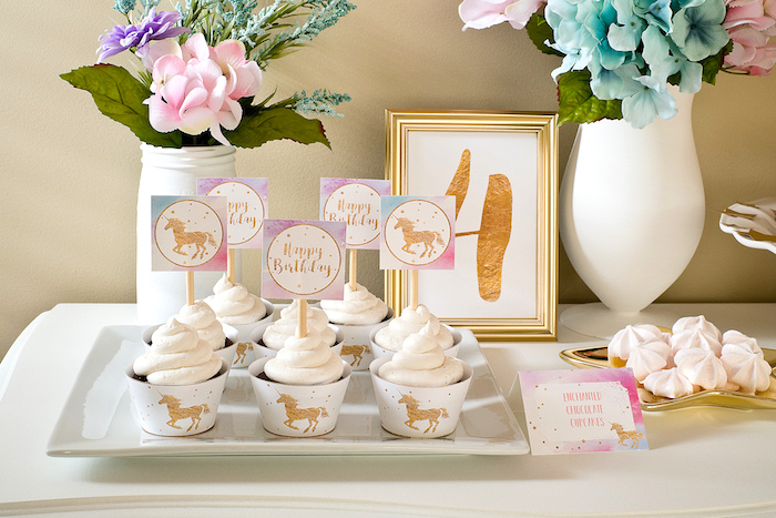 Pastel & Gold Unicorn Party on Kara's Party Ideas | KarasPartyIdeas.com (24)