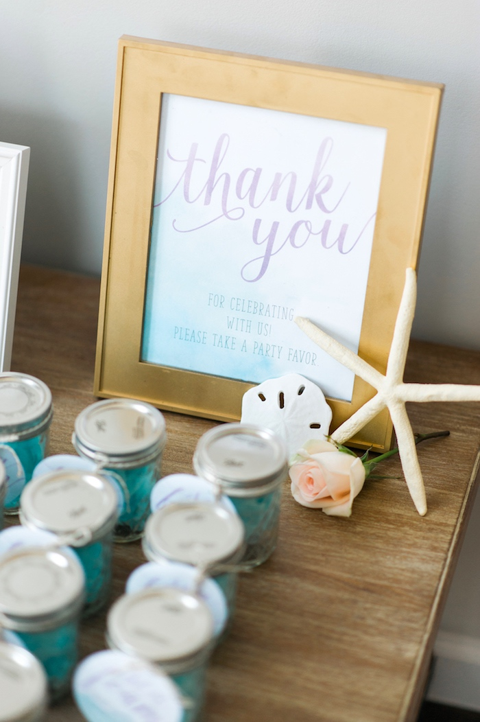 Favors from a Pastel Mermaid Birthday Party on Kara's Party Ideas | KarasPartyIdeas.com (24)