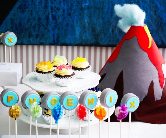 Rock desserts from a Rockin' Geology Birthday Party on Kara's Party Ideas | KarasPartyIdeas.com (6)