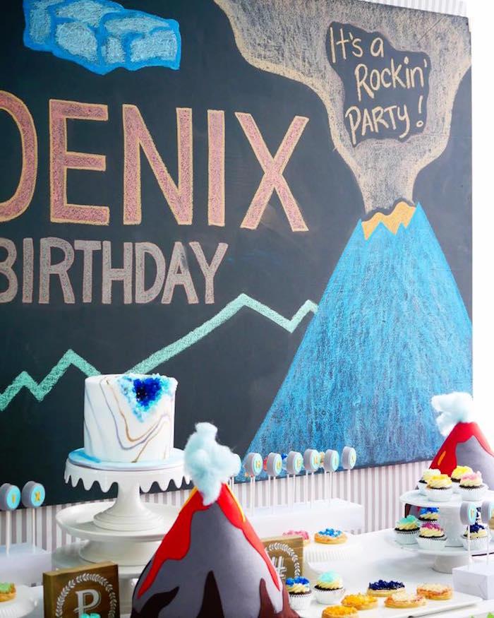 Rockin' Geology Birthday Party on Kara's Party Ideas   KarasPartyIdeas.com (13)