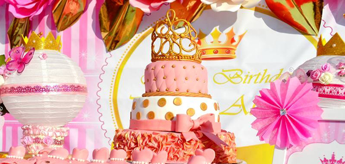 Kara S Party Ideas Pink Royal Princess Birthday Party