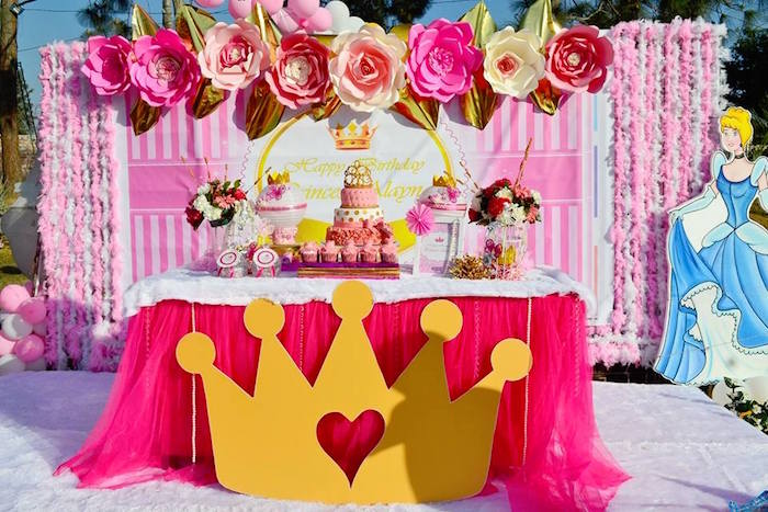 Permalink to Princess Birthday Cake
