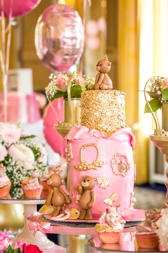 Royal Teddy Bear Princess Baby Shower
