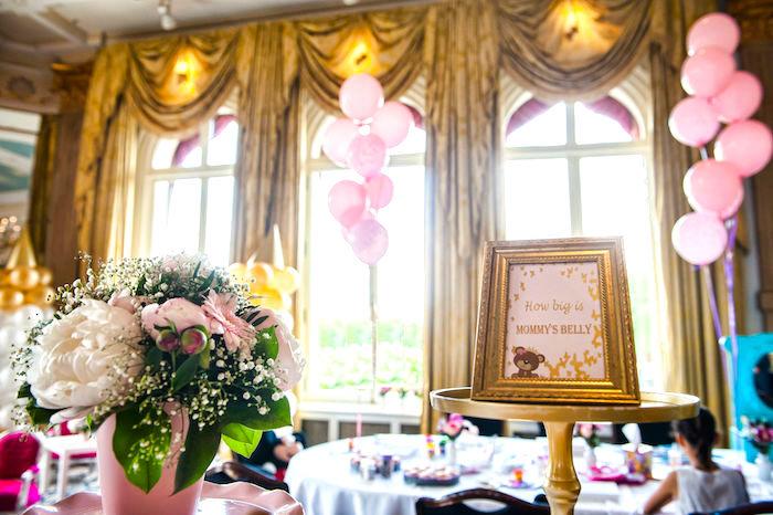 Royal Teddy Bear Princess Baby Shower on Kara's Party Ideas | KarasPartyIdeas.com (4)