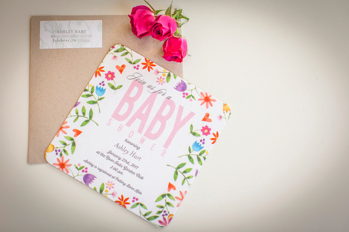 Invitation from a Secret Garden Baby Shower on Kara's Party Ideas | KarasPartyIdeas.com (36)