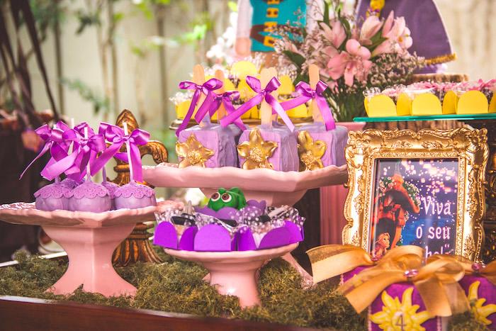 Tangled treats from a Shabby Chic Tangled Birthday Party on Kara's Party Ideas | KarasPartyIdeas.com (14)