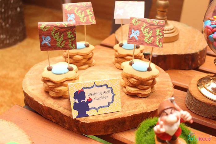 Wishing Well Cookies from a Snow White & The Seven Dwarfs Birthday Party on Kara's Party Ideas | KarasPartyIdeas.com (31)