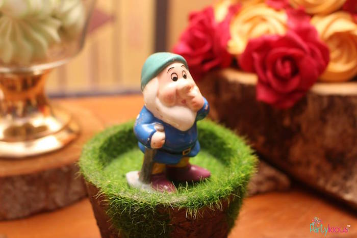 Dwarf from a Snow White & The Seven Dwarfs Birthday Party on Kara's Party Ideas | KarasPartyIdeas.com (3)