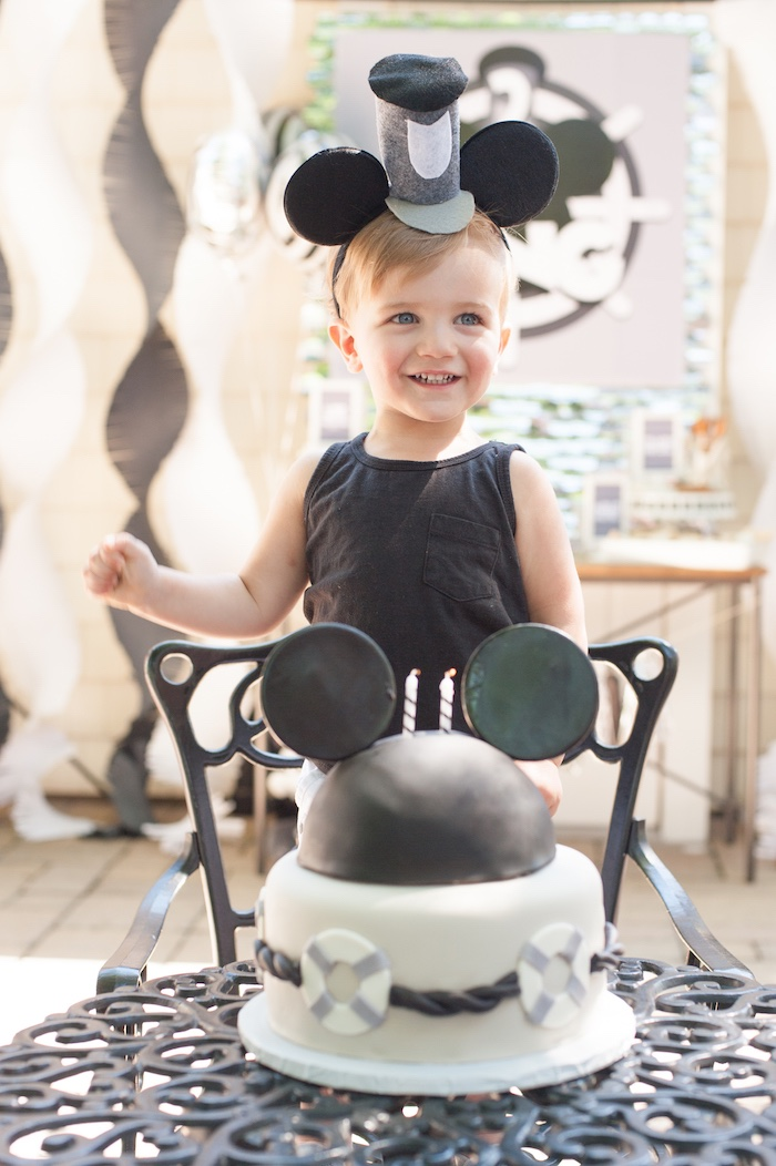Steamboat Willie Classic Mickey Mouse Birthday Party on Kara's Party Ideas | KarasPartyIdeas.com (20)