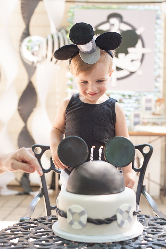 Steamboat Willie Classic Mickey Mouse Birthday Party on Kara's Party Ideas | KarasPartyIdeas.com (19)