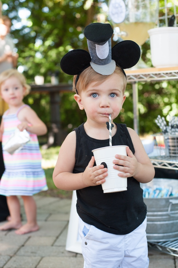 Steamboat Willie Classic Mickey Mouse Birthday Party on Kara's Party Ideas | KarasPartyIdeas.com (18)