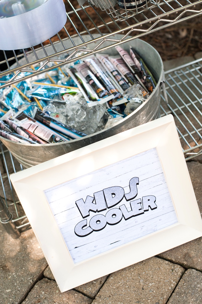 Kid's Cooler from a Steamboat Willie Classic Mickey Mouse Birthday Party on Kara's Party Ideas | KarasPartyIdeas.com (29)