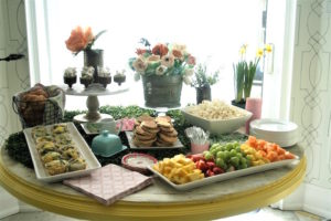 Head table from a Tea for Two Garden Party on Kara'a Party Ideas | KarasPartyIdeas.com (8)