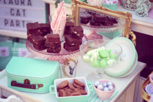 Scrumptious sweets from a Whimsical Shabby Chic Cat Themed Birthday Party on Kara's Party Ideas | KarasPartyIdeas.com (27)