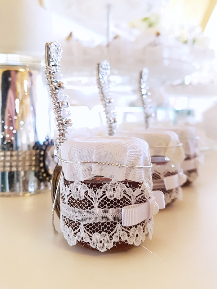 Favors from a White Angel Baptism Party on Kara's Party Ideas | KarasPartyIdeas.com (9)
