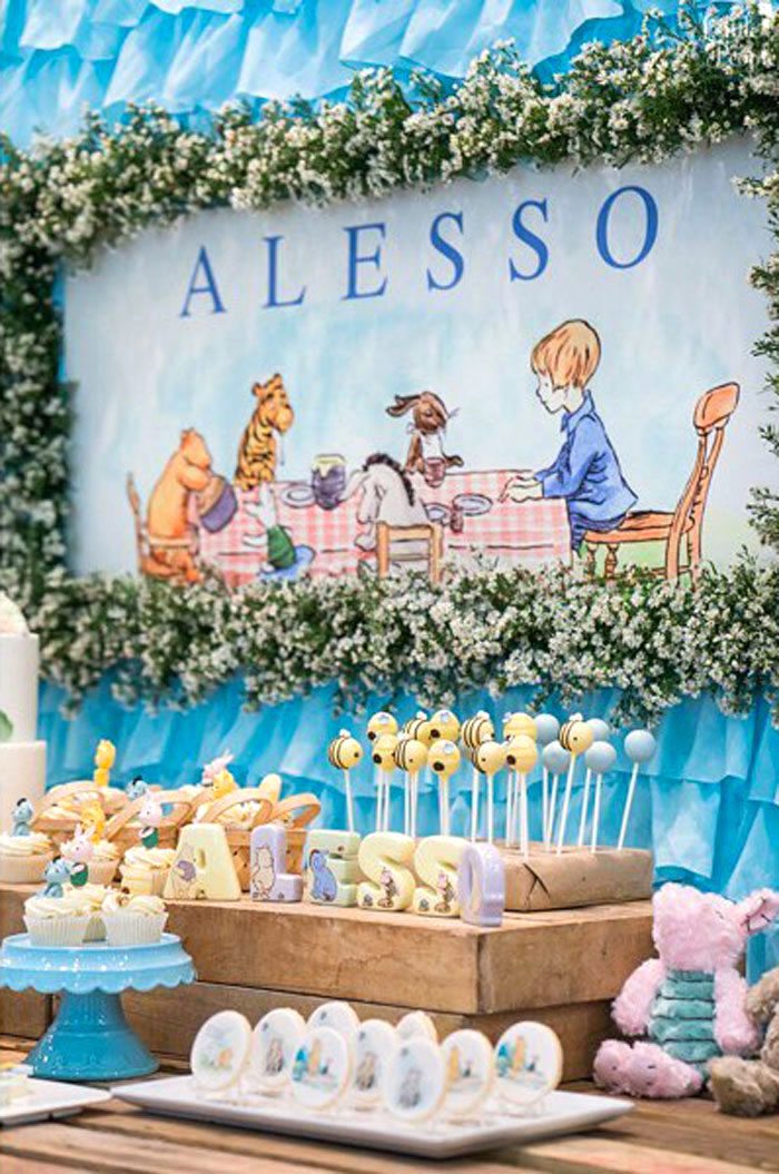 Winnie the Pooh Birthday Party on Kara's Party Ideas | KarasPartyIdeas.com (14)