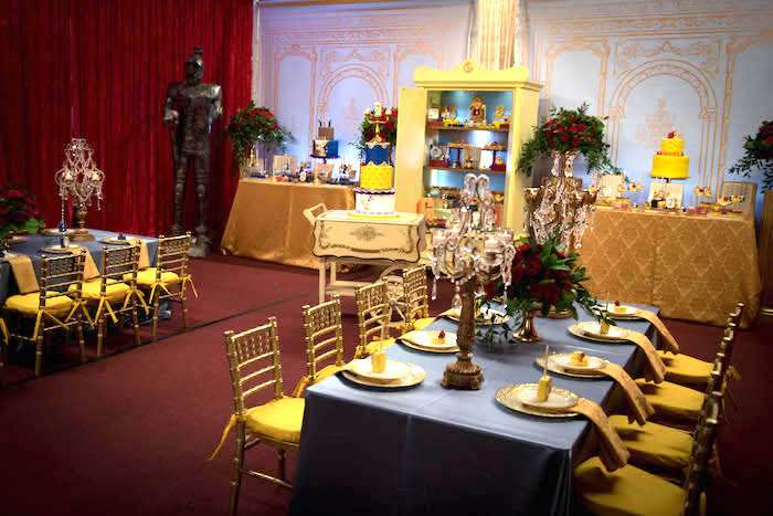 "Explore The Beauty Of Caribbean: Kara's Party Ideas ""Be Our Guest"" Beauty And The Beast"