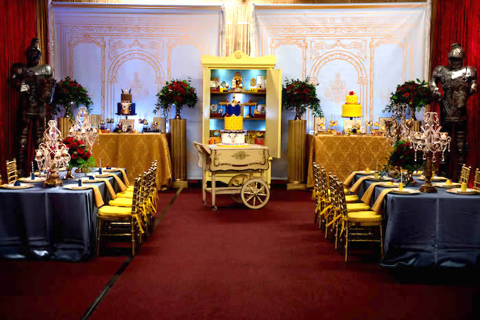 """Be Our Guest"" Beauty and the Beast Birthday Party on Kara's Party Ideas 