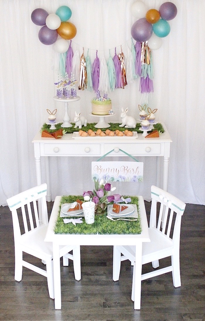 """Bunny Bash"" Easter Party for Kids on Kara's Party Ideas | KarasPartyIdeas.com (22)"