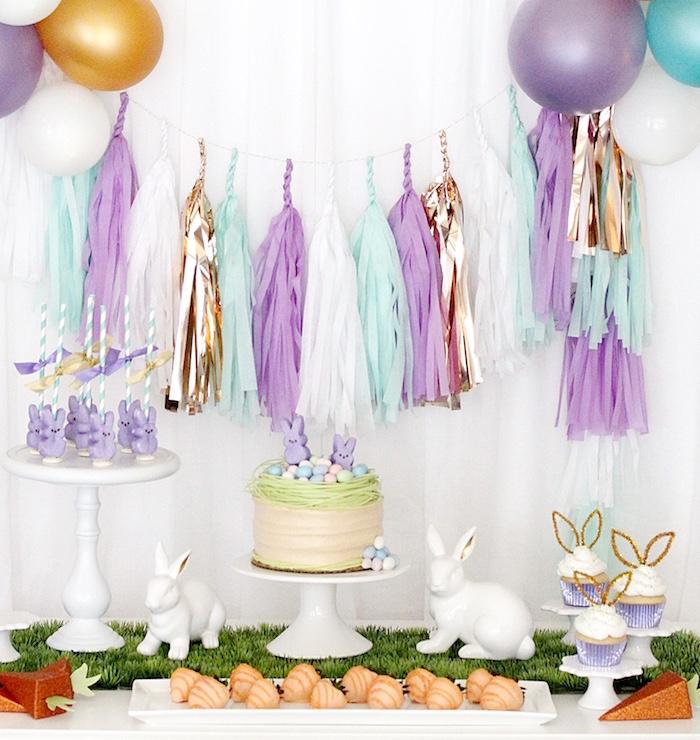 """Bunny Bash"" Easter Party for Kids on Kara's Party Ideas | KarasPartyIdeas.com (17)"