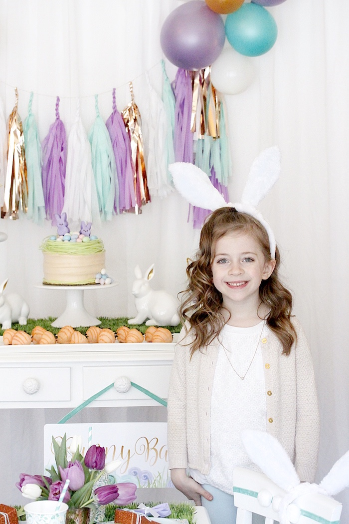 Kara S Party Ideas Quot Bunny Bash Quot Easter Party For Kids