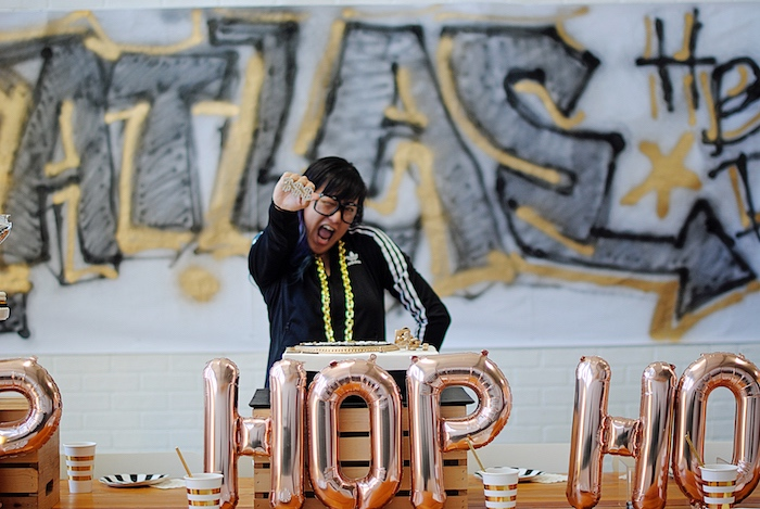 Kara S Party Ideas Quot Hip Hop Hooray Quot Old School Rapper
